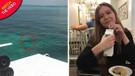 Genç kadın 3 tane köpekbalığının saldırısına uğradı