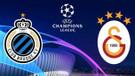 Galatasaray, Şampiyonlar Ligi'nde Club Brugge deplasmanında