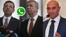 CHP'li 11 belediye ortak projeleri hızlandırmak için Whatsapp grubu kurdu