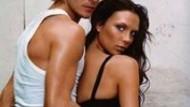 Beckham çiftinden parfüm reklamı için seksi poz! Parfümün fiyatını tahmin edin!