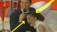 Canlı yayında inanılmaz kaza!!! Sunucunun saçları mikrofona dolaşınca neler oldu? VİDEO