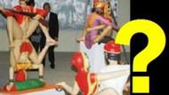 İstanbul Bienalinde şok!!! Melih Gökçek bu heykeli görse kesin tükürür!!!
