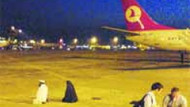 Apronda namaz kılan yolcuların THY ile hiç ilgisi yokmuş!!!