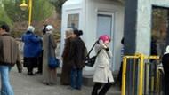 Bu da Türban kulübesi!!! Üniversite kapısında bitmeyen trajedi!!! FOTO/GALERİ