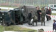 Van'da Askeri araç devrildi! 5 Asker yaralandı!
