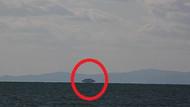 Van'da şaşırtan görüntü! UFO mu uzay gemisi mi?