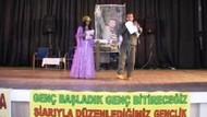 Kars'ta PKK skandalı! Teröristler için saygı duruşu!