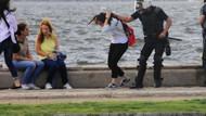 İzmir'de genç kızın saçını çeken o polis açığa alındı!