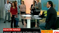 CNN Türk'te Özge Uzun'a sürpriz doğum günü!