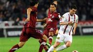 Gençlerbirliği 1 - 1 Trabzonspor Burak penaltı kaçırdı!