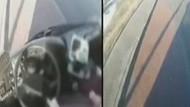 Otobüsün şoförü aniden bayıldı! Dehşet anları!