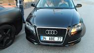 Merve Boluğur önündeki arabaya vurdu kaçtı!