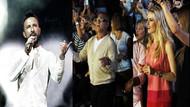 Tarkan konserine ünlüler yağdı!