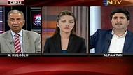 NTV'de tansiyon yükseldi! Canlı yayında şok sözler!