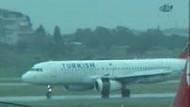 THY uçağının motor kapağı düştü! Havada panik!