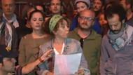 Ünlü sanatçılar Taksim'de medyayı topa tuttu!