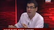 Canlı yayında 'Evet-Hayır' kavgası! Enver Aysever çıldırdı!