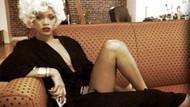 Rihanna'dan Marilyn Monroe pozu!
