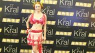 2000 prezervatifli elbise giydi! Kral TV gecesinde şok!