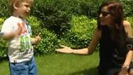 Esra Erol'un oğlu İdris Ali kameralara şov yaptı!