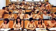 Eğitim anadan doğma başlar! Bu okulda herkes çıplak!