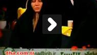 İranlı kadın spikerin canlı yayındaki zor anları!