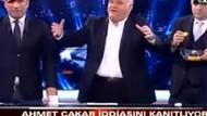 Ahmet Çakar canlı yayında kurayı tekrarladı!
