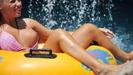 Playboy güzeli tatil için Antalya'yı tercih etti!