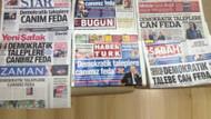 Başbakan döndü, 7 gazete birden aynı manşeti attı!