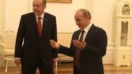Erdoğan Putin görüşmesinde şok görüntü! Nasıl çağırdı?