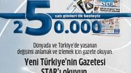 Star Gazetesi ilk 5 içine girdi!