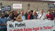 Volkan Konak temiz futbol eylemine katıldı!
