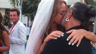 Yılın düğünü havuzda bitti! Ali ve Ayşe böyle evlendi!