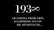 Atatürk'ü anma törenleri ve Koç'un o ilanı...