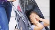 Paparazzi alışkanlığı! Kutluay'ın çocuğu bile yüzünü saklıyor!