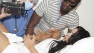İşte Kim Kardashian'ın bebeği!
