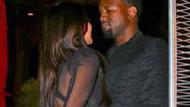 Kardashian ve Kanye West'in romantik anları!