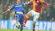 Galatasaray 1-1 Schalke Arena'da zorlu gece!