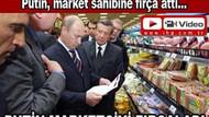 Putin'in fırçası, marketçiyi nasıl şok etti?