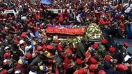 Milyonlar Chavez'i böyle uğurladı! Ama o tabut boş muydu?