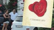 İşte Ali Taran ve Ayşe Özyılmazel aşkının sembolü!