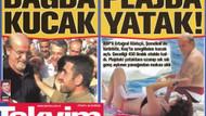 Takvim, Kürkçü'yü genç bir kadınla plajda yakaladı!