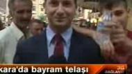 NTV muhabirinin zor anları!