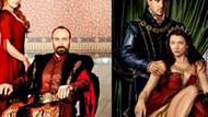 Muhteşem Yüzyıl'ın afişleri Tudor'dan kopya mı?