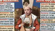 Sözcü Erdoğan'ı padişah yapıp ayran içirdi!