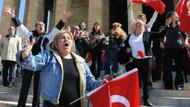 Bakana Anıtkabir'de şok protesto! Bayrağın nerede?