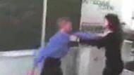 Bu nasıl öğrenci! Çılgın liseli öğretmenini dövdü!