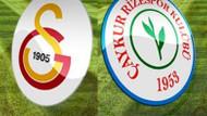 Galatasaray 1-1 Rizespor! Terim'siz ilk maçta kabus!