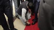 Müezzinoğlu 10 yaşındaki çocuğa ayakkabısını sildirdi!
