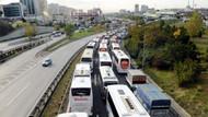 Uzun yoldan geldiler, İstanbul'a giremediler!